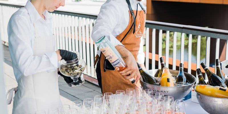 Stichwort: Cocktail-Empfang!