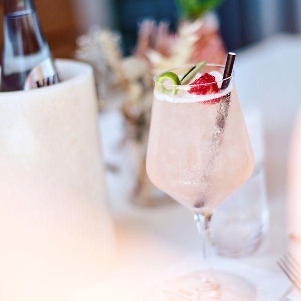 Darf´s ein kühler Drink zum essen sein?