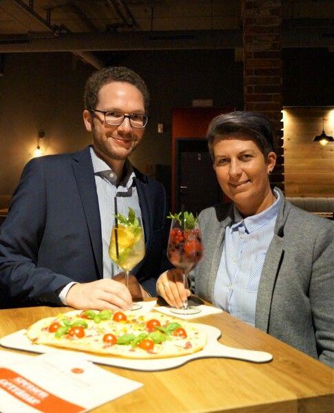 Inhaber Nicolas Hüser und Betriebsleiterin Annetta Alm