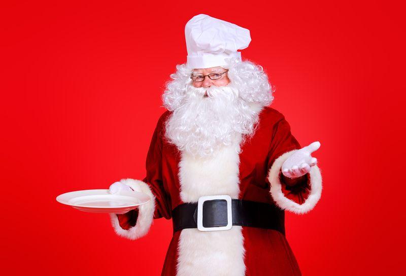 Koch Weihnachtsmann